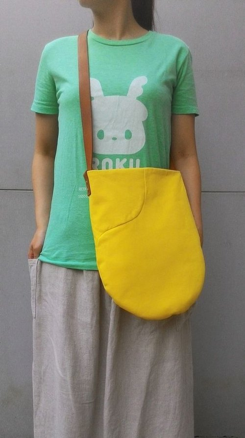 Fruit (Lemon Yellow) - Shoulder/Shoulderback Pack