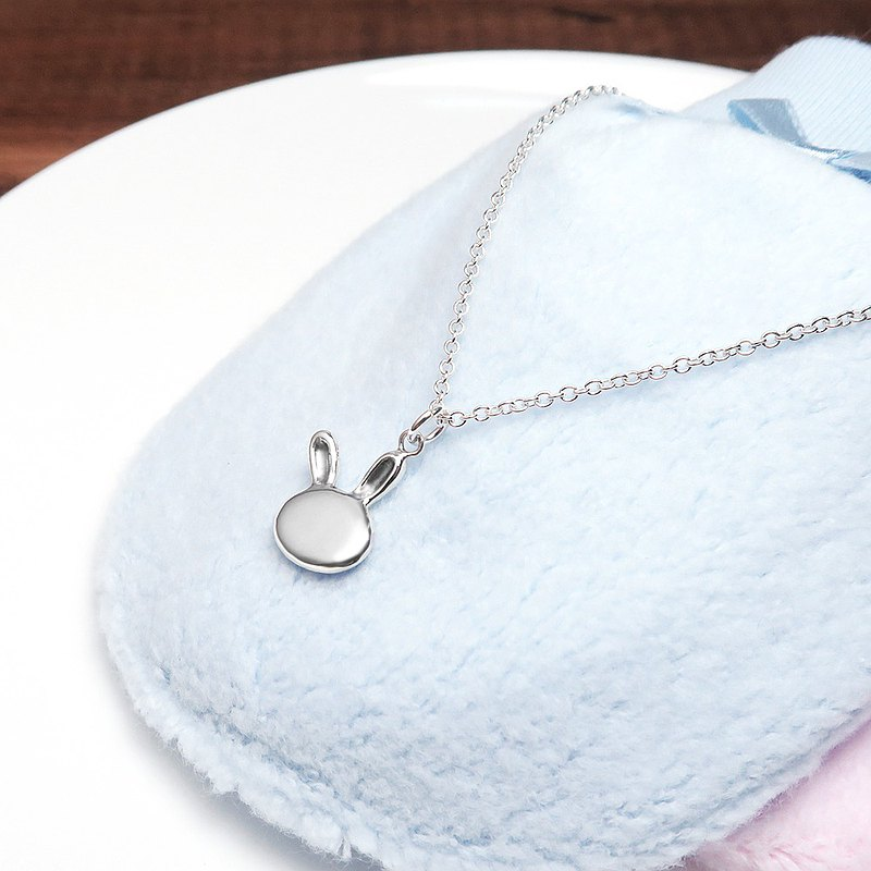 Jumping Rabbit - 925 Sterling Silver Parenting Necklace
