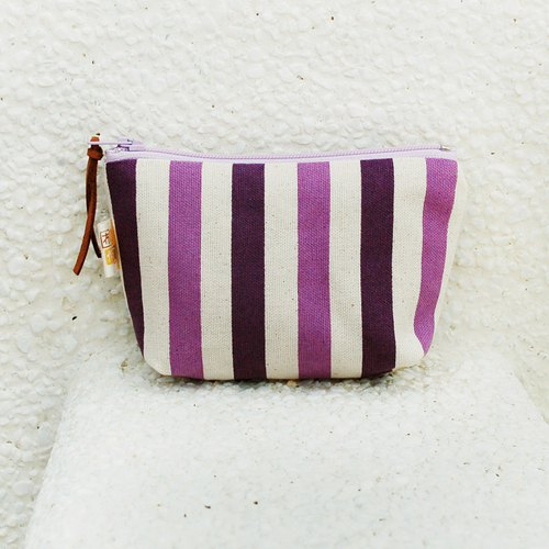 Wen Qing line small storage bag _ purple / left 1
