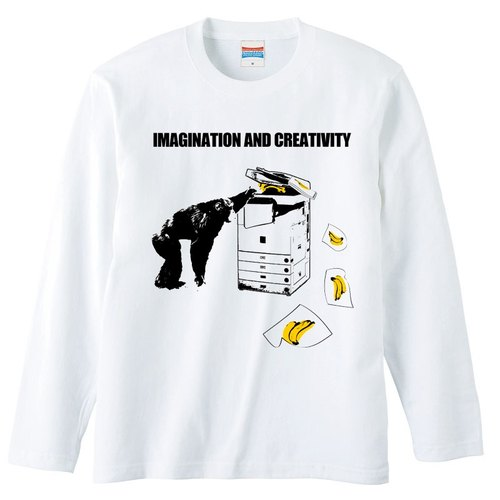 [Long sleeve T-shirt] IMAGINATION