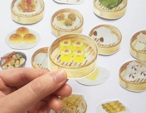 Hong Kong Series - Hong Kong Dessert Stickers