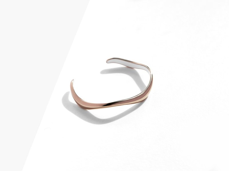 NEW! FLOW Cuff Bracelet | Bronze | Personalised Gift