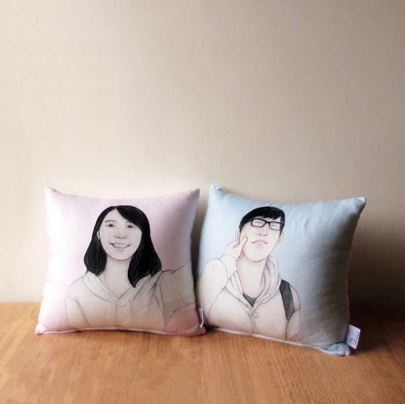 DUNMI and other custom-made pillows (single-sided printing + splicing models)