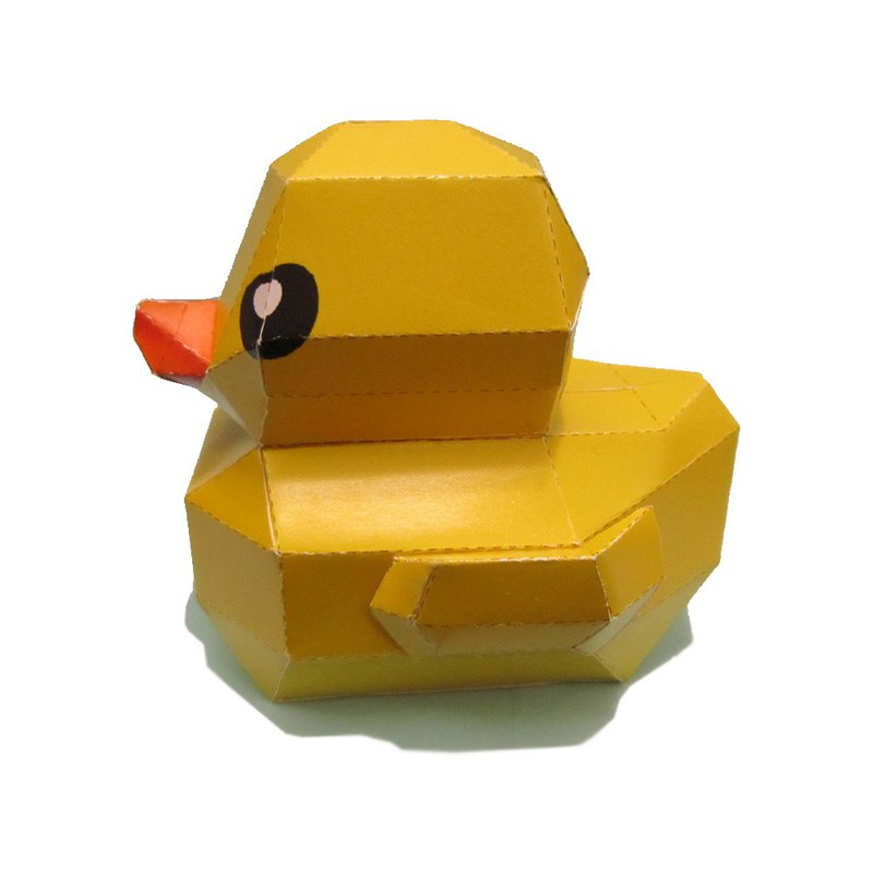 DIY Handmade-Yellow Duckling or Want Dog or Happy Mouse