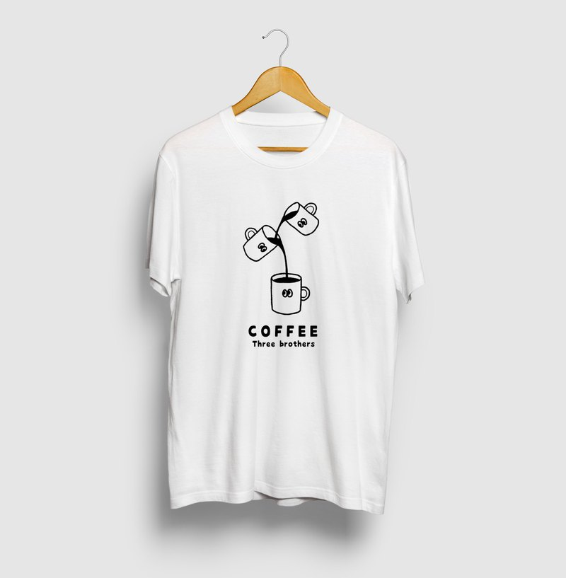 Coffee Three Brothers Coffee Three Brothers Illustration T-shirt