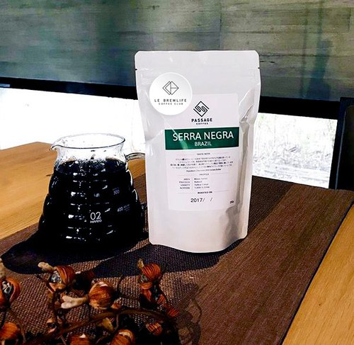 Le Brewlife X Tokyo, Japan Passage Coffee - Serra Negra Brazil sun drying shallow baking