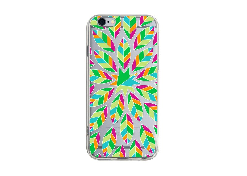 Colored leaves - Samsung S5 S6 S7 note4 note5 iPhone 5 5s 6 6s 6 plus 7 7 plus ASUS HTC m9 Sony LG G4 G5 v10 phone shell mobile phone sets phone shell phone case