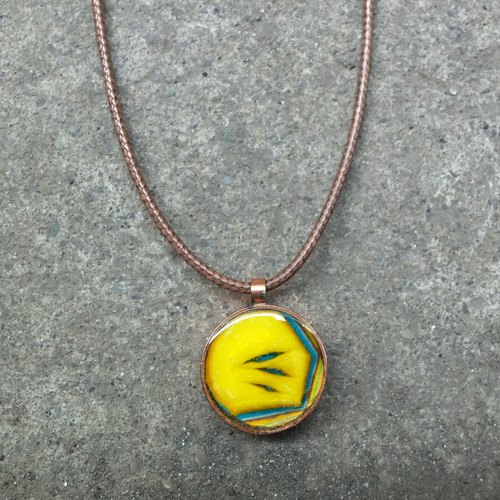 bijibabo <Small World> Necklace # 107018