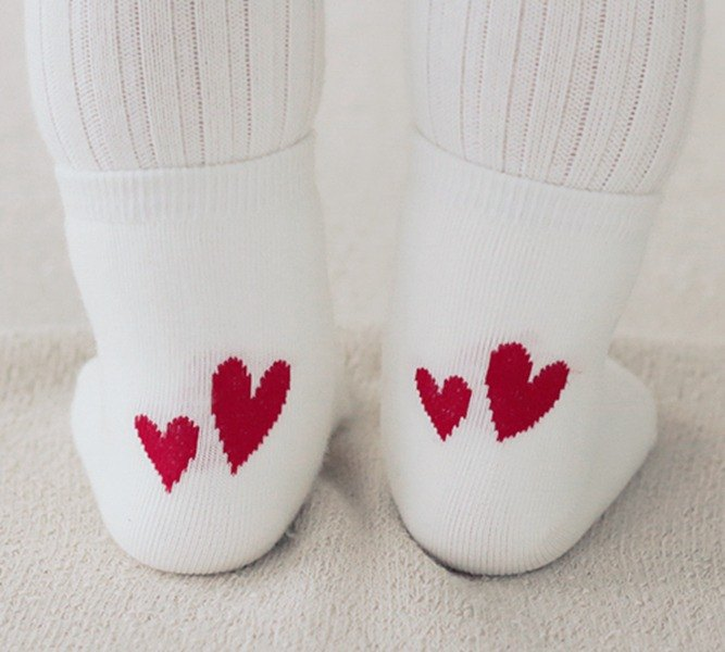 Happy Prince LoveBebe Baby Love Socks Made in Korea