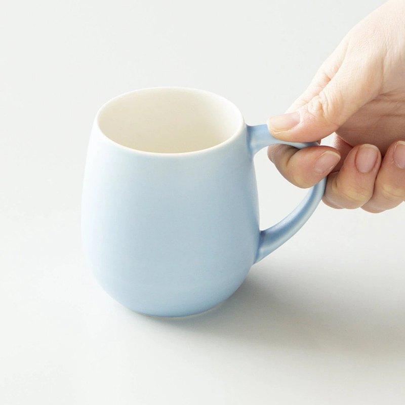 日本ORIGAMI 摺紙咖啡Barrel Aroma馬克杯霧色系列 320ml