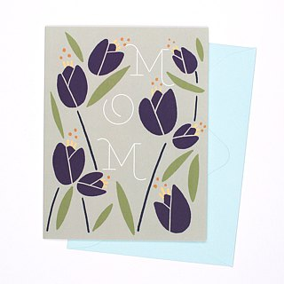 Card for Mom - Tulip