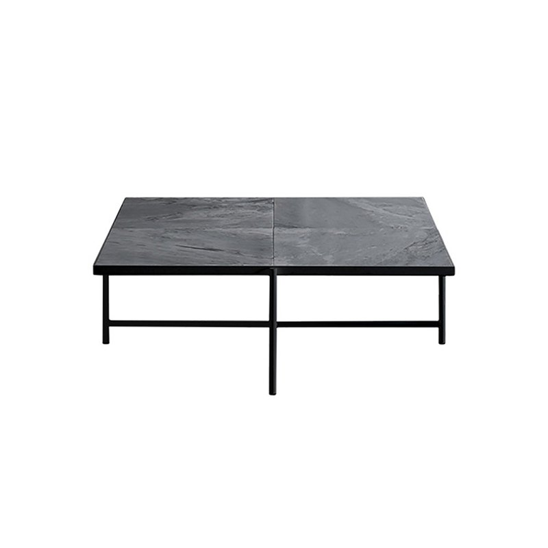 HANDVARK-COFFEE TABLE 90 BLACK-GREY