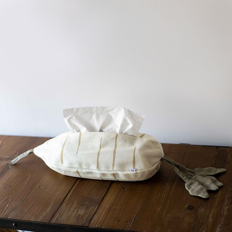Local ingredients, white radish facial paper cover, flat and hanging dual-use