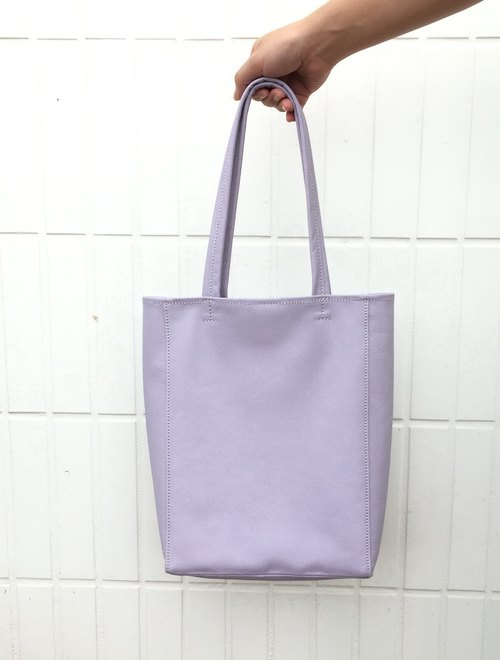 Elegant soft leather bag (hand/shoulder dual-use models) - Soft Purple