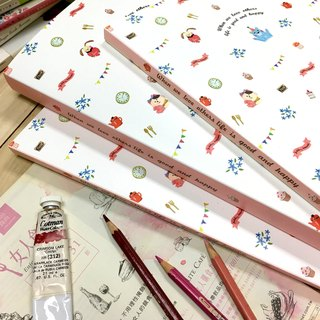 Boge stationery x taste life [20 into the data book] two colors