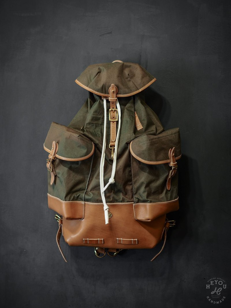 HEYOU Handmade - Army style backpack - Old products