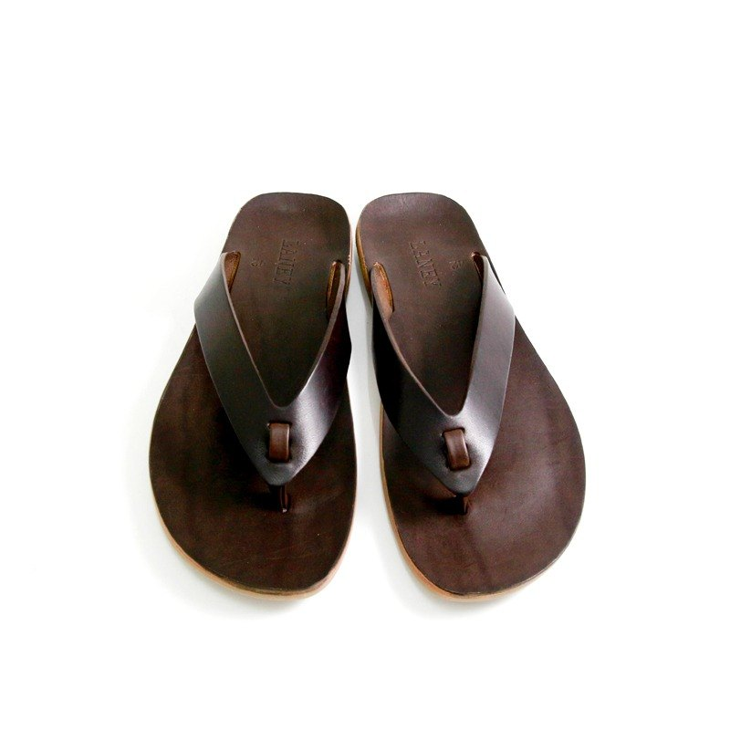 LANNY LANEY / Black Coffee Flip-Flops Slippers_Male/EU43 / JP28