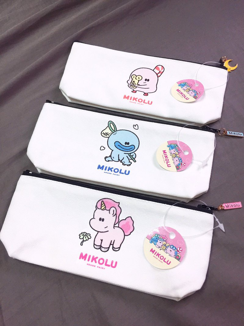 [All 3 kinds] Honey Kura zipper storage bag (cosmetic bag, pencil case)