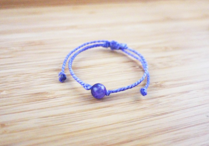 [Zhu Su] Fine woven bracelet with silk wax thread