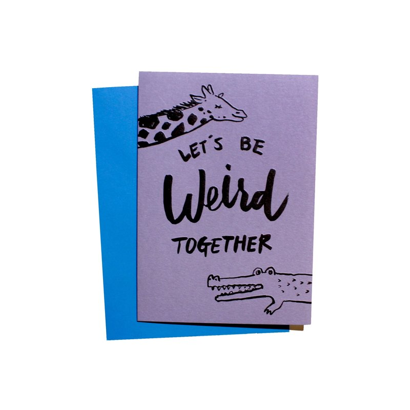 You & Me Collection - Let's be weird together
