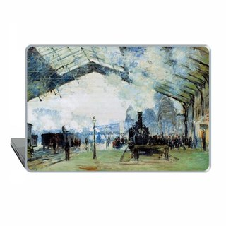 Macbook Pro 13 touch bar classic art Case locomotive MacBook Air 13 Case macbook 11 railway Macbook Pro 15 Retina impressionist Case Hard 1509