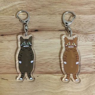 cat key fob Cat-chan key holder