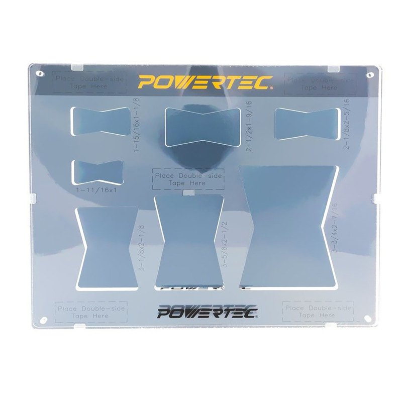 POWERTEC 71356 Butterfly Template For Woodworking
