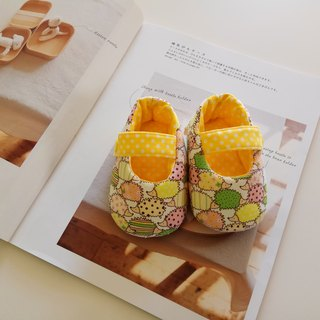 <Yellow> hedgehog beauty gift baby shoes baby shoes