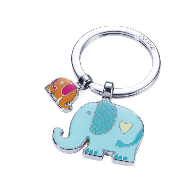 大象小象鑰匙圈