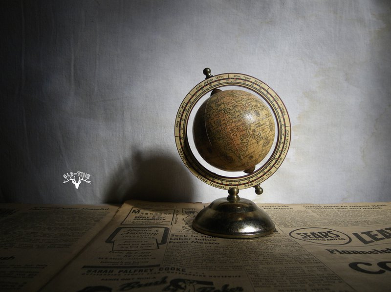 [Old Time OLD-TIME] Early Small Globe