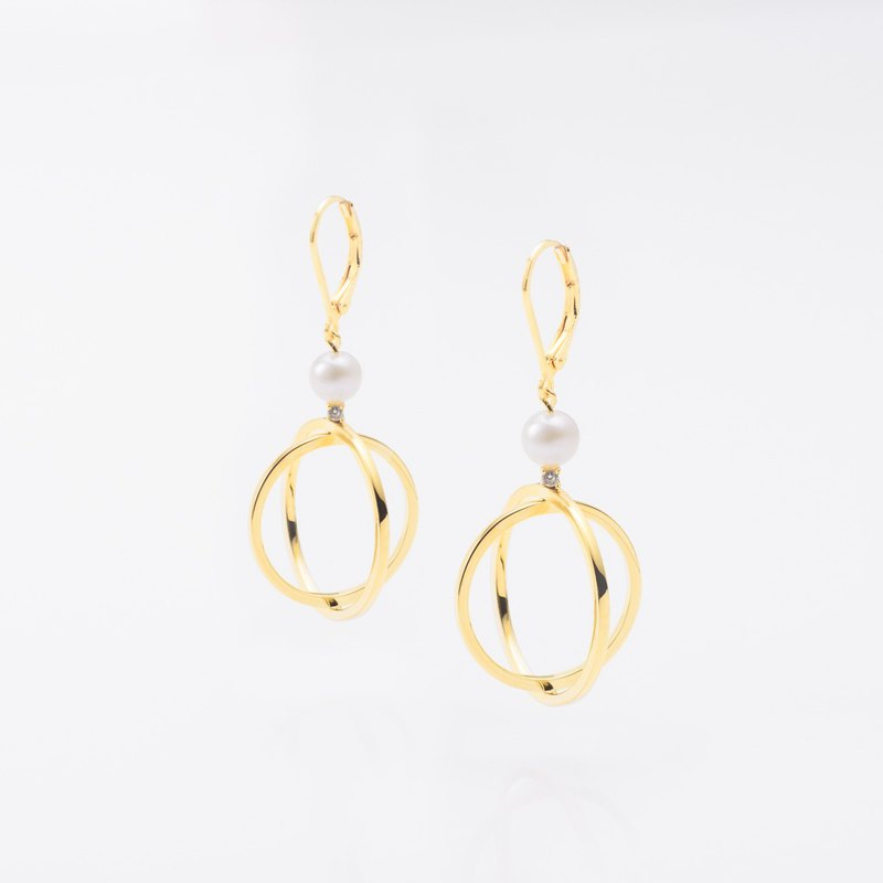 高雅時尚 / Orlena earrings 一對