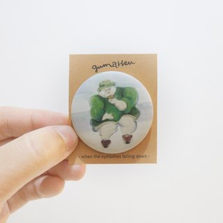 Running mind: Fog badge pins