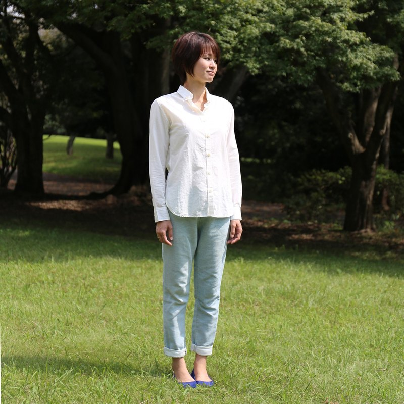 Cotton linen shirt · unisex size 1