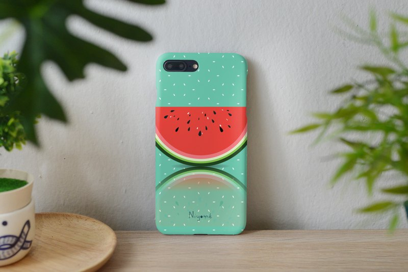 red watermelon iphone case สำหรับ iphone5s, 6s plus, 7, 7+, 8, 8+, iphone x