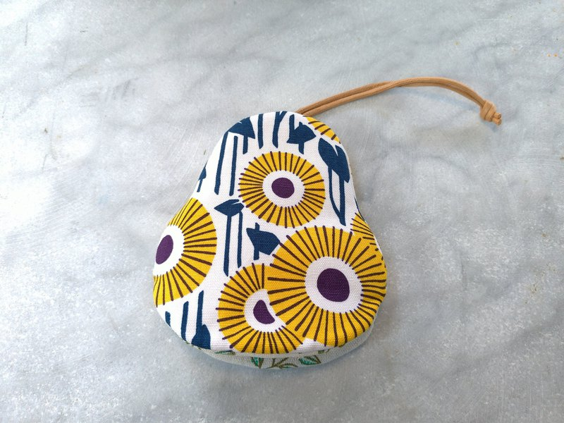 Sunflower Pear Key Case [K180813]