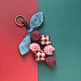 Bouquet key ring strap