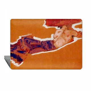 Schiele Macbook Pro 15 touch case Nude with Red Hat MacBook Air 13 Pro 13 Retina Pro 12 case Macbook air 11 classic art Case Hard Plastic 1828