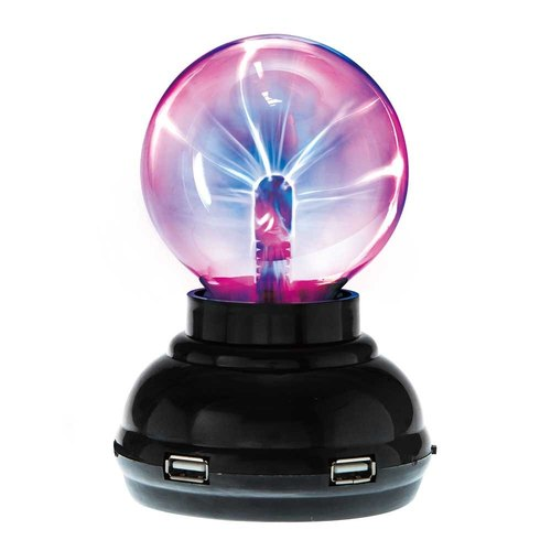 Mr. Sai Science Plasma Plasma Ball (with 4-hole USB hub function)