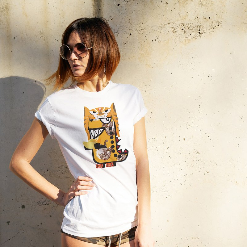 Rawr the Tee-Rex and the Chinese Zodiac Tees - Tiger