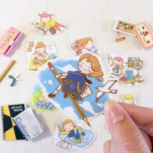 daily moment-sticker set
