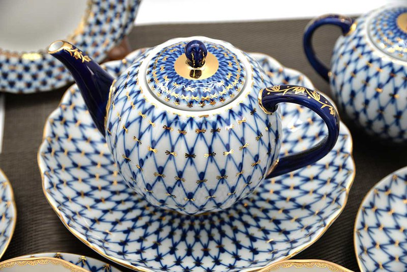 TEAPOT THE COBALT NET
