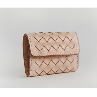 Weave three fold wallet