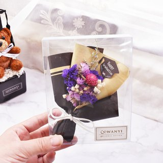 WANYI Graduation Bachelor Bouquet Box Dry Flower / Gift / Marriage / Graduation Gift / Wedding Small Things