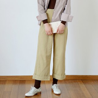 Thick khaki tooling pants