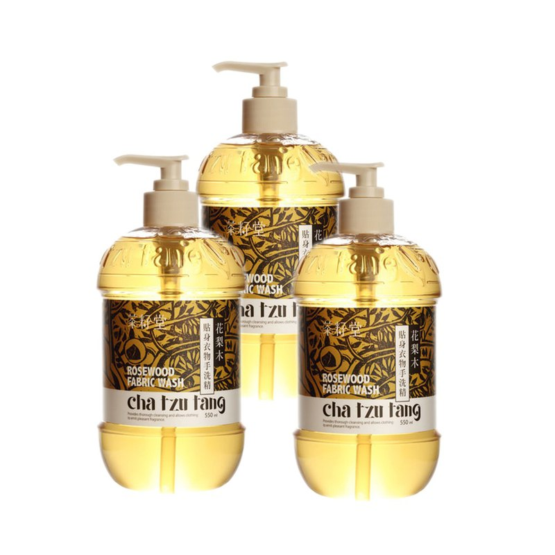 Tea Seed Hall [hot recommended] rosewood close-fitting clothing hand wash 550mL-3 bottle into