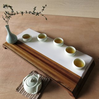 """HO MOOD"" wood fight series - tea tray"