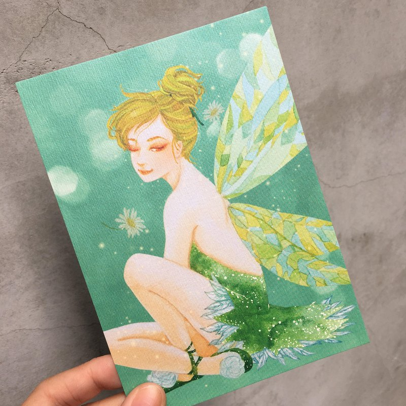 Scented Postcard - Elf