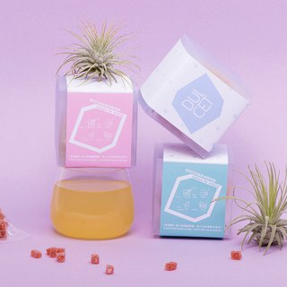 [DULCET dry jam] colorful small snowflake / pocket gift Pocket Gift two box set