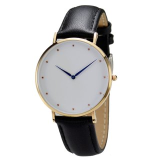 Classic Minimalist Watch with Blue Hands - Free shipping worldwide