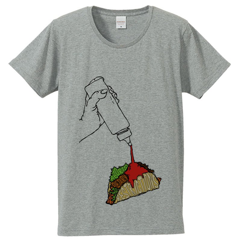 Tシャツ /  It aborts dietary restrictions (Gray)